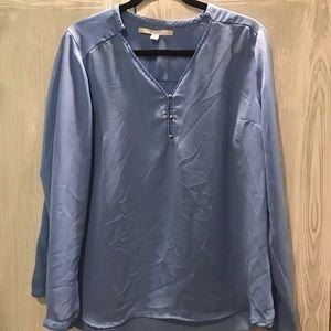 Women's Lauren Conrad Blue XL Blouse